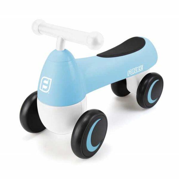 Четириколка за яздене за деца над 18 месеца, FUNBEE синя - Играчки за навън