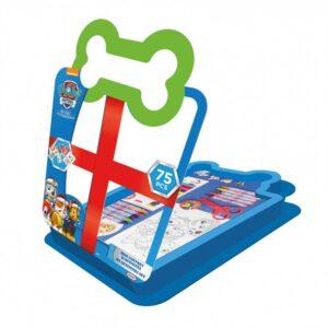 Детски комплект за оцветяване 75 части, PAW PATROL - Детски играчки - Комплекти за рисуване - PAW Patrol