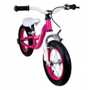 Колело за баланс със спирачка FUNBEE, розово - Играчки за навън - Балансиращи колела