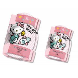 Комплект каска, наколенки и налакътници HELLO KITTY 2 - Играчки за навън - Протектори - каски, налакътници, наколенки - Hello Kitty