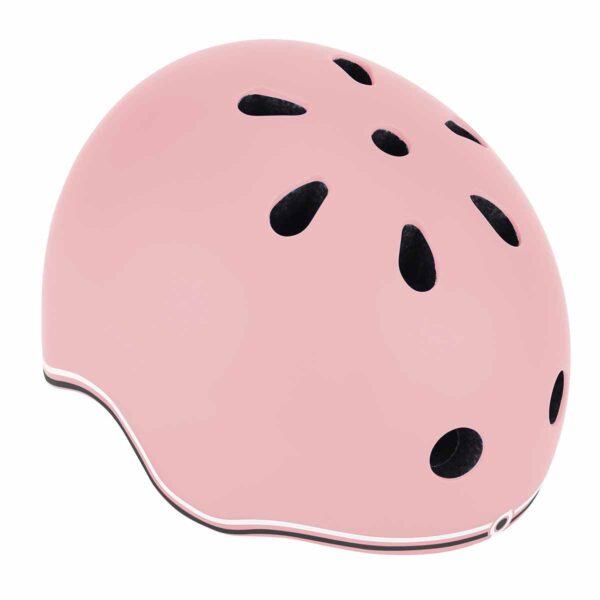 Детска каска за колело и тротинетка Globber, 45-51 см, пастелно розова - Играчки за навън - Протектори - каски, налакътници, наколенки