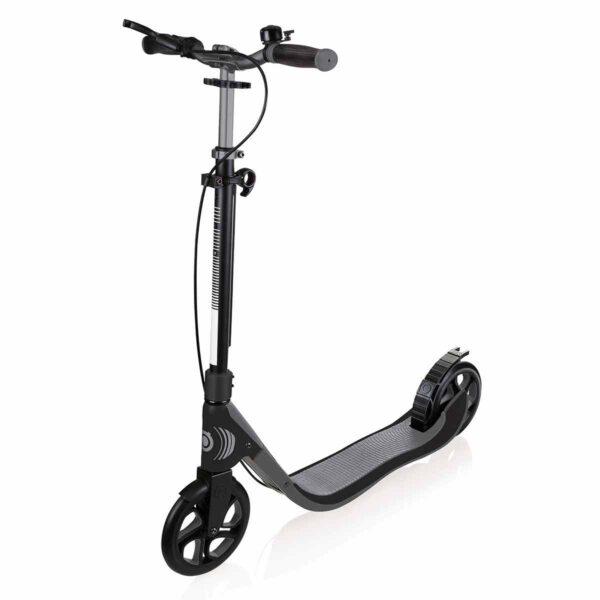 Сгъваема тротинетка за възрастни Globber ONE NL 205 DELUXE - сива - Тротинетки - Играчки за навън - Тротинетки с 2 колела за големи и деца