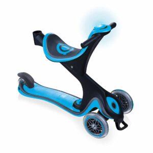 Тротинетка с родителски контрол 5в1 Globber Go Up Comfort Play - небесно синя - Тротинетки - Играчки за навън - Tротинетки 5 в 1