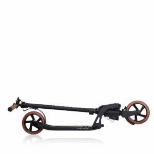 Тротинетка за възрастни Globber ONE K 180, сгъваема, Vintage Black - Тротинетки - Играчки за навън - Тротинетки с 2 колела за големи и деца