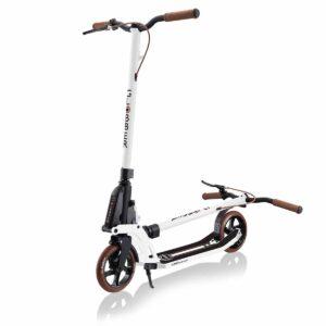 Тротинетка за възрастни Globber ONE K 180, сгъваема, Vintage White - Тротинетки - Играчки за навън - Тротинетки с 2 колела за големи и деца